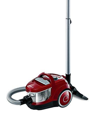 Bosch BGC2U230 Aspirador sin Bolsa, 1600 W, 1.4 litros, 79 Decibeles, Rojo