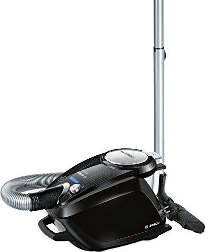 Bosch BGS5SIL66B Relaxx'x ProSilence - Aspirador sin bolsa AAA silencioso, tecnología SensorBagless, 700 W, autolimpieza de filtro SelfClean, color negro