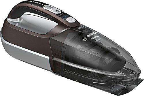Bosch BHN2140L Move Lithium Aspirador 0.4 litros, Marrón/gris traslúcido/plata
