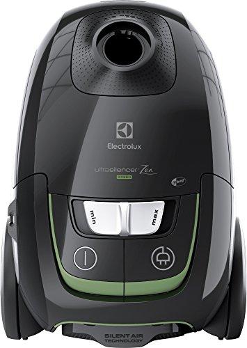 Electrolux aspirador con bolsa UltraSilencer Silent Zen aspiración AeroPro, Bolsa s-BAG Clinic Anti Allergy, Sistema Motion Control, 3.5L versión verde Negro