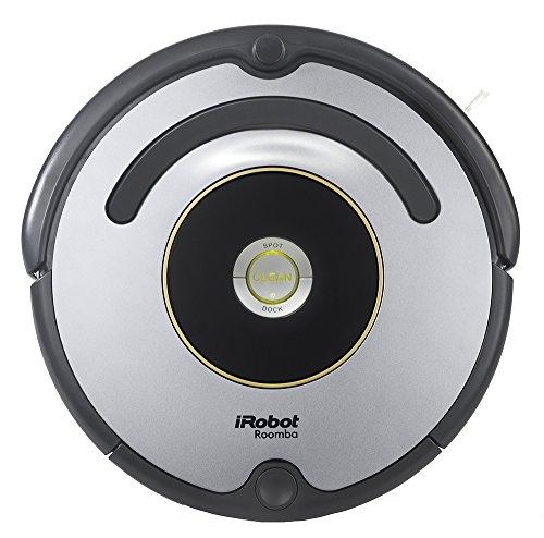 iRobot Roomba 615 - Robot aspirador para suelos duros y alfombras, con tecnología Dirt Detect, sistema de limpieza en 3 fases, 34 x 34 x 9.2 cm
