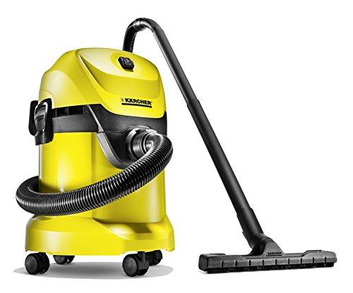 Kärcher WD3 - Aspirador sin bolsa multiuso, boquilla para aspiración en seco y húmedo, 1000 W, depósito de 17 litros, 220-240 V (ref. 1.629-800.0)