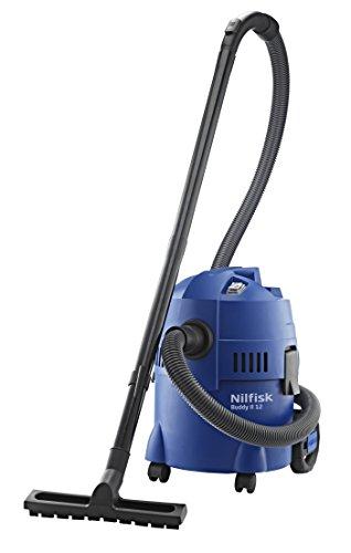 NILFISK Buddy II 12 Aspirador de Agua, con o sin Bolsa, 1200 W, 12 litros, 74 Decibeles, Azul