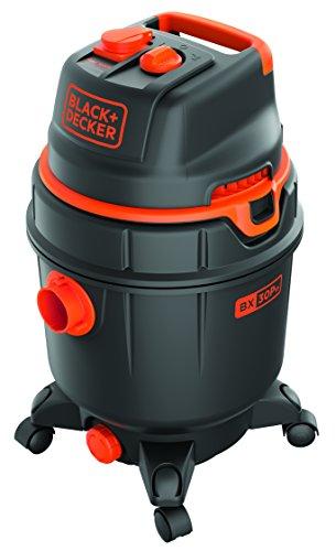 Black Decker 51687 Aspiradora, 1600 W, con depósito 30 litros, con toma de corriente, función automática ON/OFF