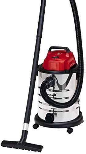 Einhell 2342188 Aspirador seco-húmedo, 1500 W, 230 V, Negro, Gris, Rojo