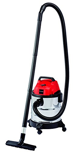 Einhell TH-VC 1820 S -Aspirador seco - húmedo, inox, 180 mbar, 1250 W, 230 V, 80 dB (ref. 2342167)