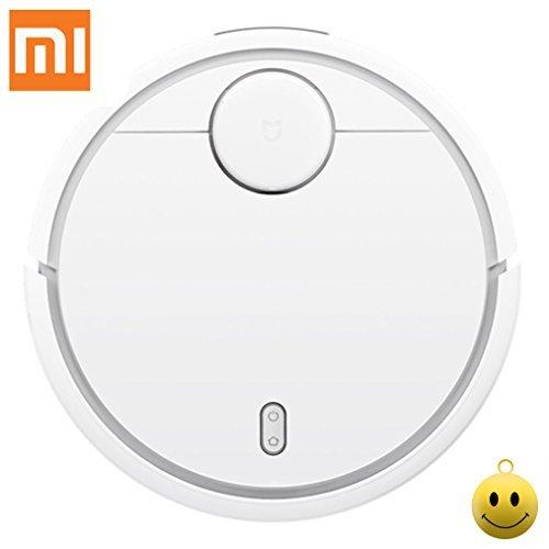 Xiaomi MI Robot inteligente aspiradora Vacuum Cleaner control de aplicaciones Sweeper recarga automática silencioso limncopieza color bla