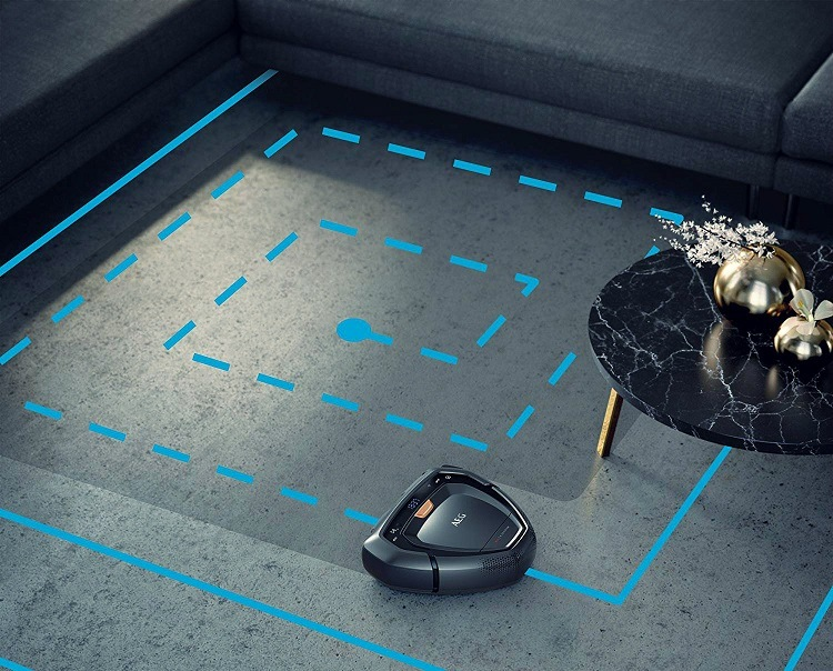 Robot Aspirador AEG RX9 Navegabilidad