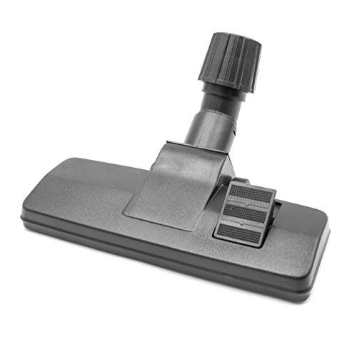 vhbw Boquilla de suelo combi tipo 41 con conexión universal 30-37mm para aspiradoras Philips, AEG, Electrolux, Dirt Devil, Vax, Rowenta, Hoover.