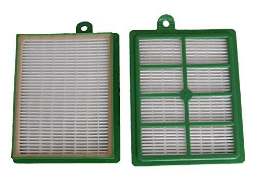 vhbw Set de filtros Hepa de recambio para AEG Cyclone XL ACX 6494, ACX 6495, ACX 6496, ACX 6497, ACX 6498, ACX 6499 reemplaza AEF 12, H12.