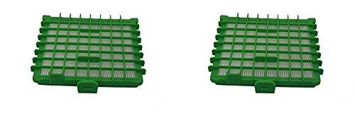 Green Label Kit de 2 Filtros HEPA para Aspiradoras Rowenta Silence Force. Reemplaza a ZR002901