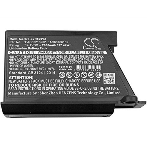 Powery Batería para Robot-Aspirador LG VR62601LV