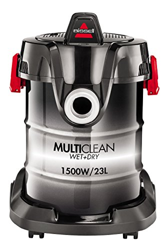 Bissell MultiClean W&D Drum 23 L Negro, Blanco 262 W, 1500 W, 85 Decibelios