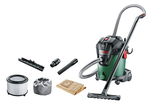 Bosch Home and Garden 06033D1200 Aspiradora, verde, 1200 W