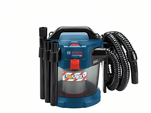 Bosch Professional GAS 18V-10 L - Aspirador a batería (sin batería, 18 V, capacidad 10 l, manguera 1,6 m, 90 mbar)