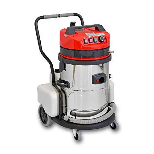 EOLO MOTOR VAPOR LP10 sistema de limpieza profesional/industrial multifunción Aspira y Lava con agua caliente 60° max, equipada con n. 11 accesorios estándar que permiten una limpieza efectiva y rápida de cualquier superficie